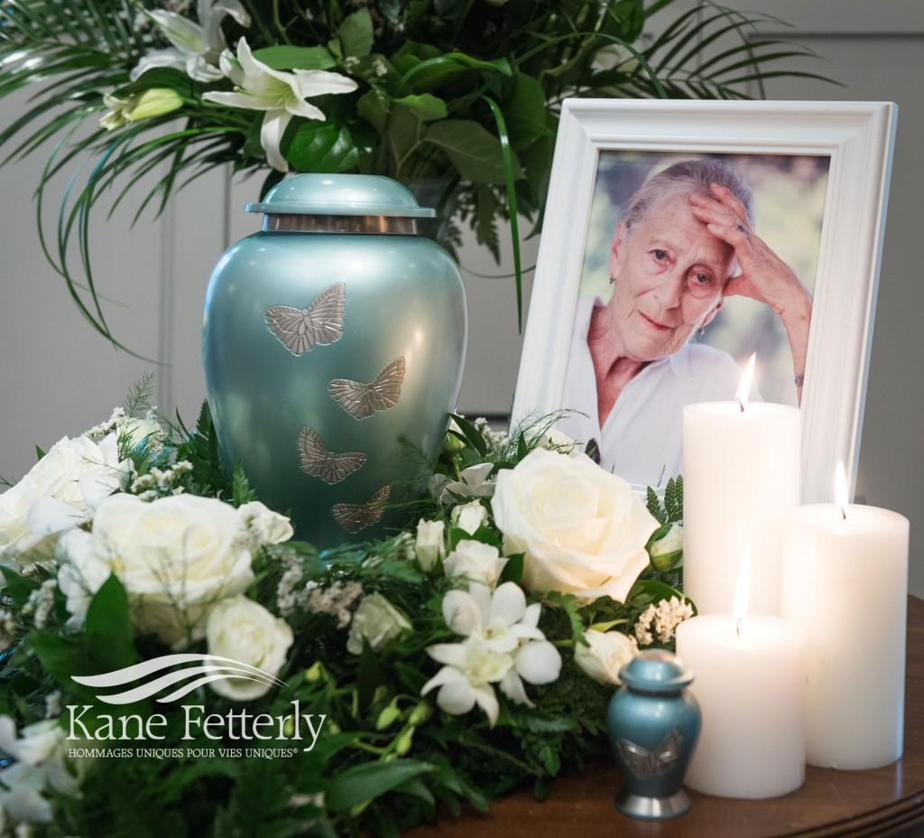 Détail de service commémoratif chez Kane Fetterly