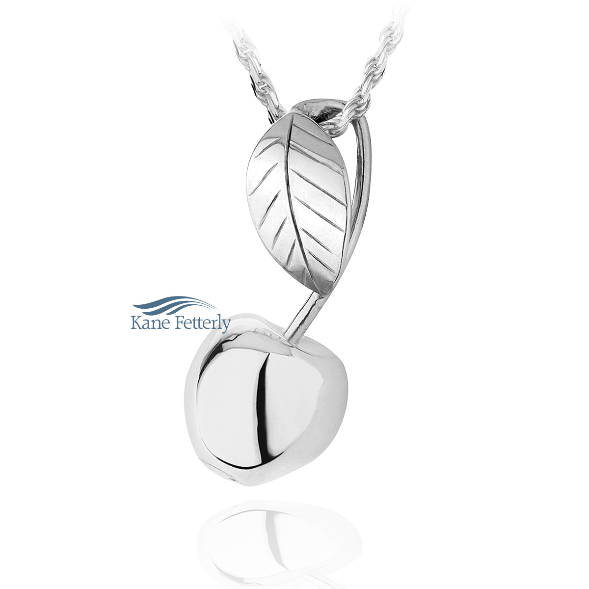 J0156 Cherry pendant in sterling silver