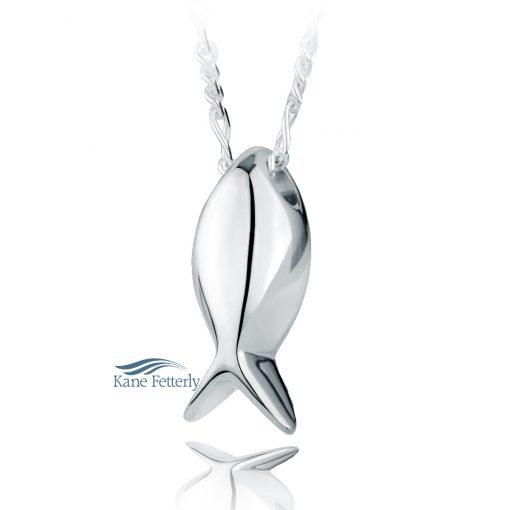 Fish cremation pendant