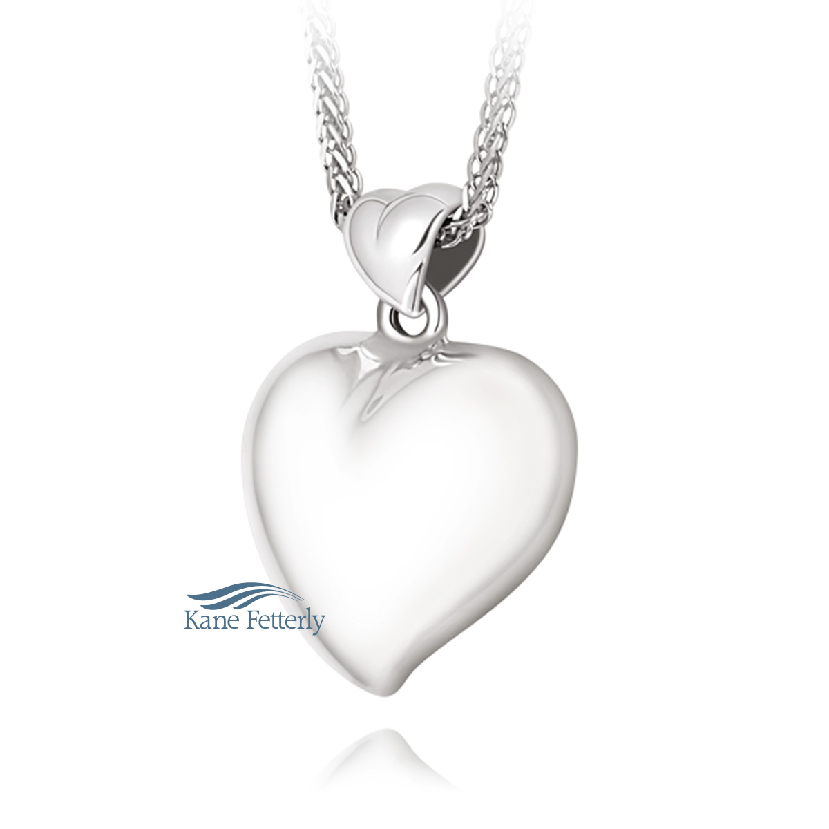 J0216 Heart Pendant in Sterling Silver