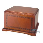 U4403 Solid cherry urn