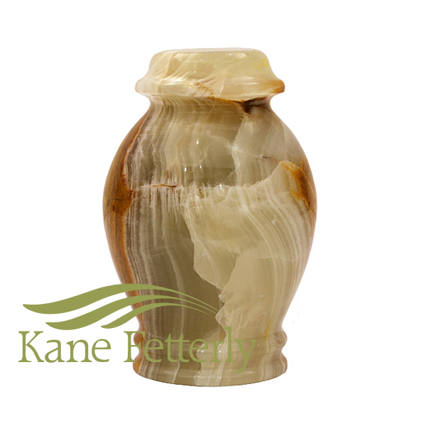 U6021K Natural marble miniature urn