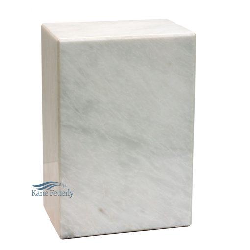 U6441 Urne en marbre naturel blanc