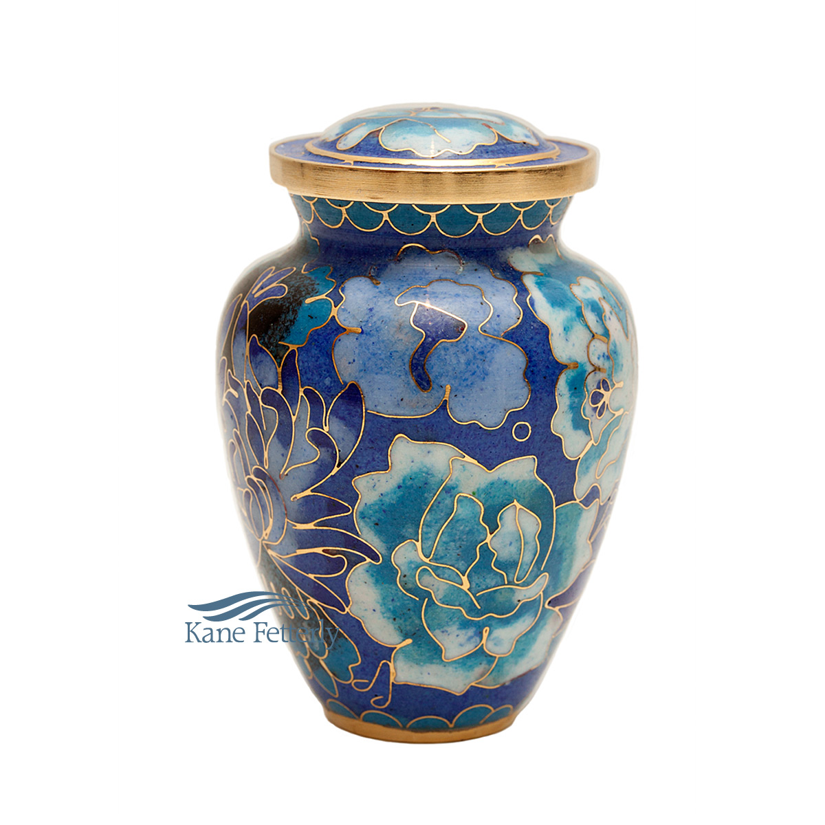 U8598K Cloisonn� miniature urn