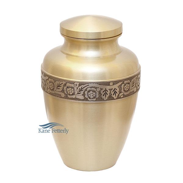 U8611 Brass urn