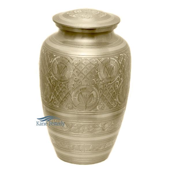 U8615 Brass urn