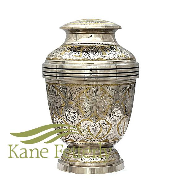 U8619 Brass urn