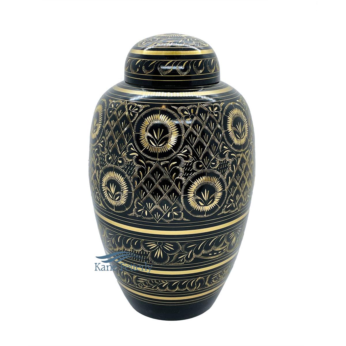 U8674 Brass urn