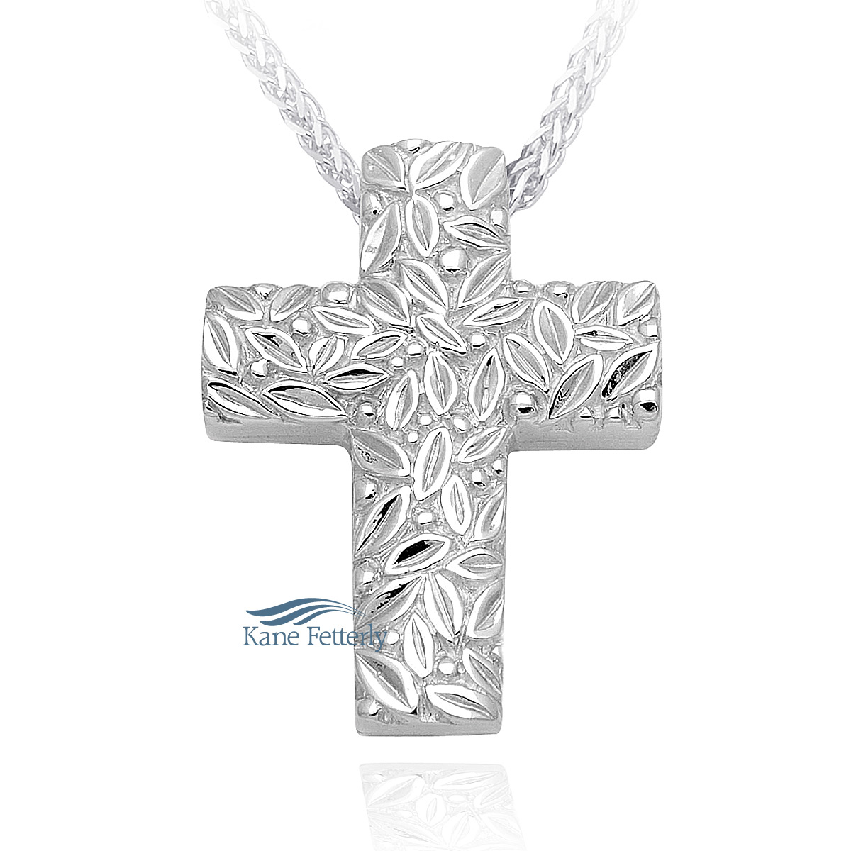 J0171 Cross pendant in sterling silver