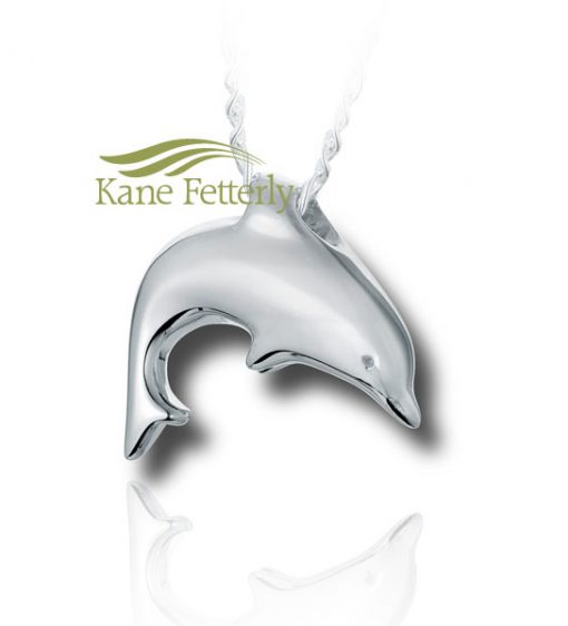 Dolphin - sterling silver pendant
