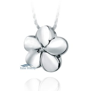 Flower - sterling silver pendant