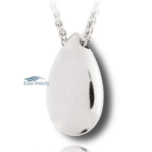 Tear DropJ0125 Tear Drop - sterling silver pendant