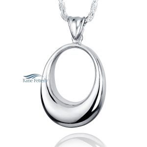 J0131 Oval - sterling silver pendant