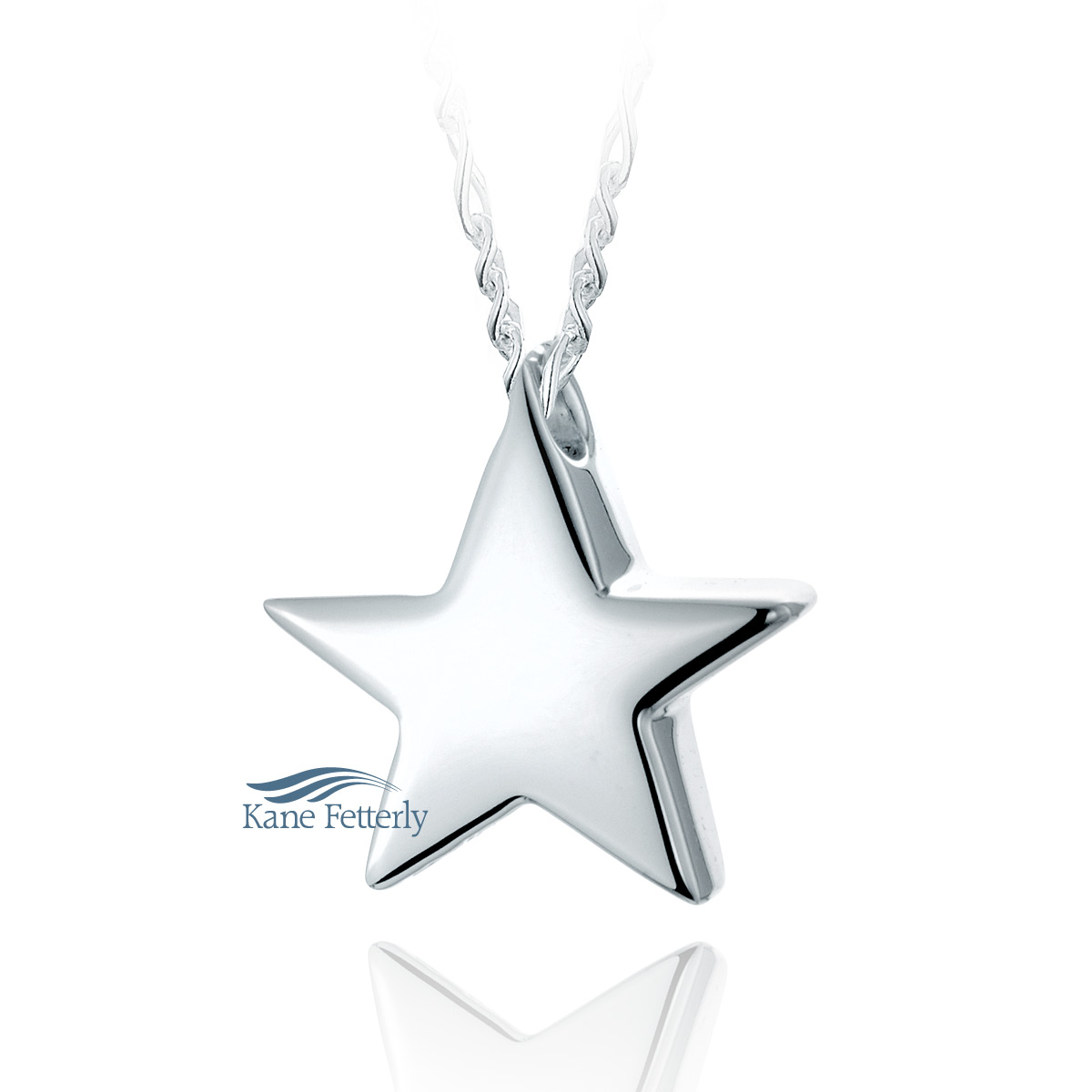 J0140 Star pendant in sterling silver