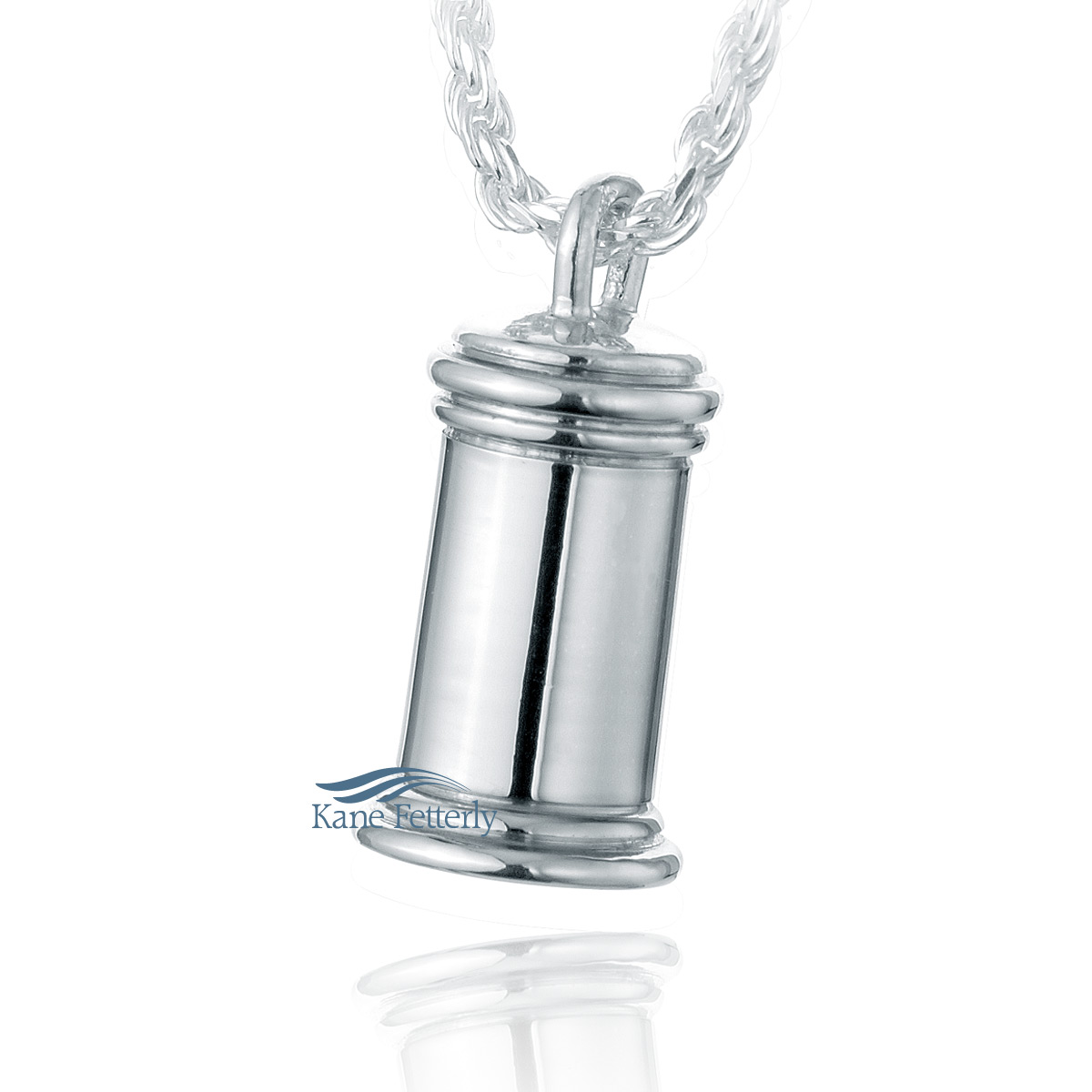 J0151 Traditional pendant in sterling silver