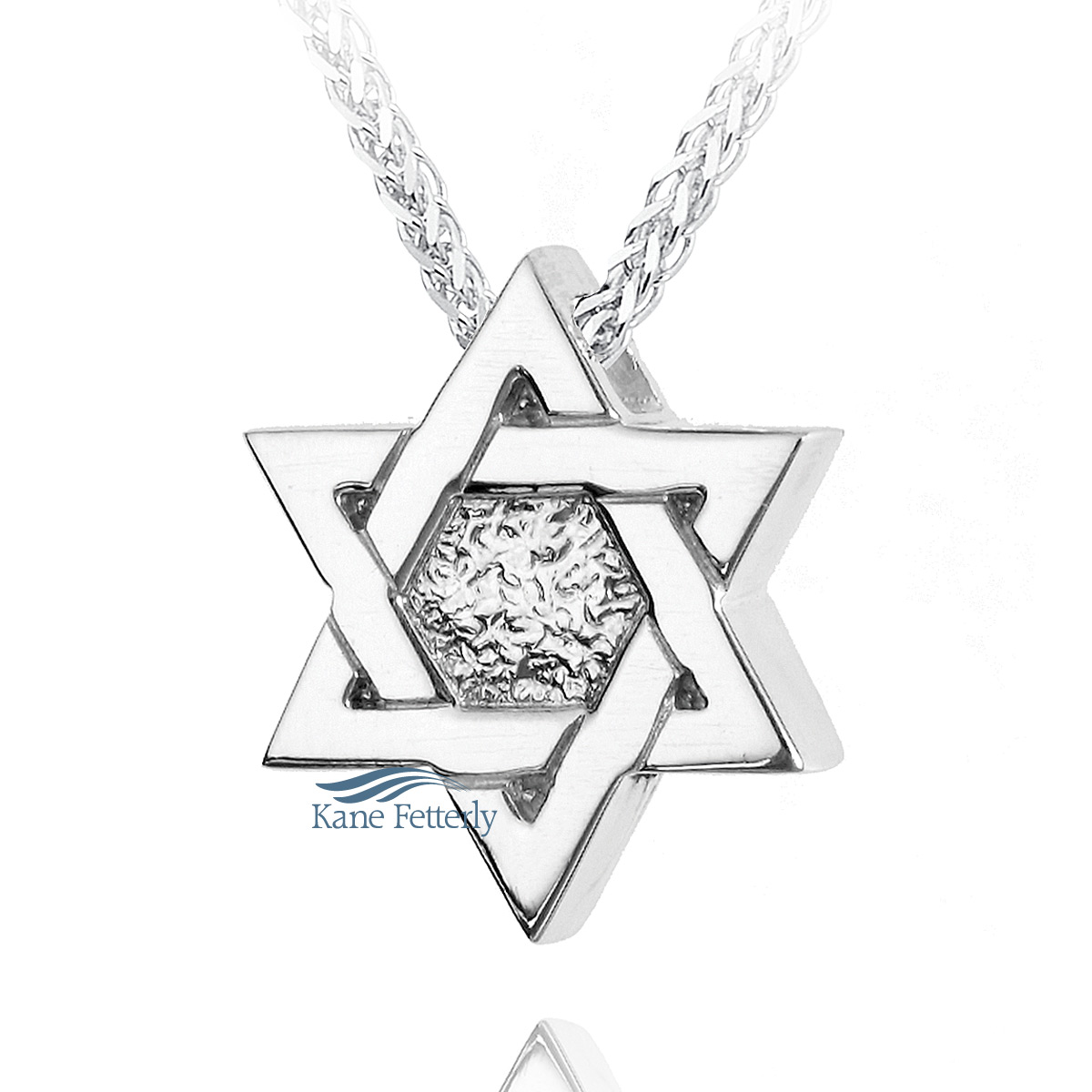 J0159 Star of David pendant in sterling silver