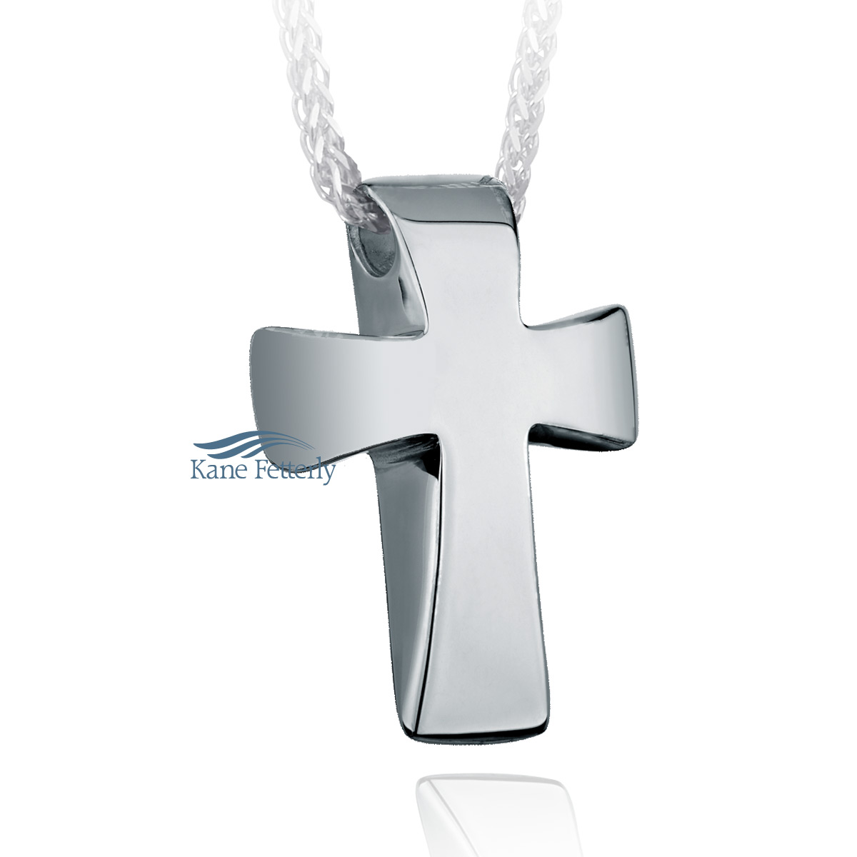 J0160 Cross pendant in sterling silver