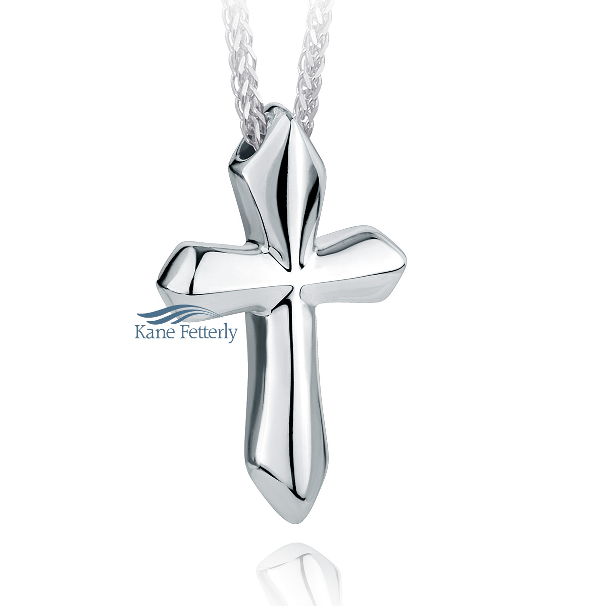 J0162 Cross pendant in sterling silver