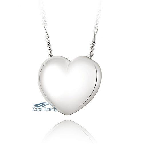 J0219 Heart cremation pendant