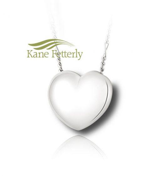 J0219 Heart - sterling silver pendant