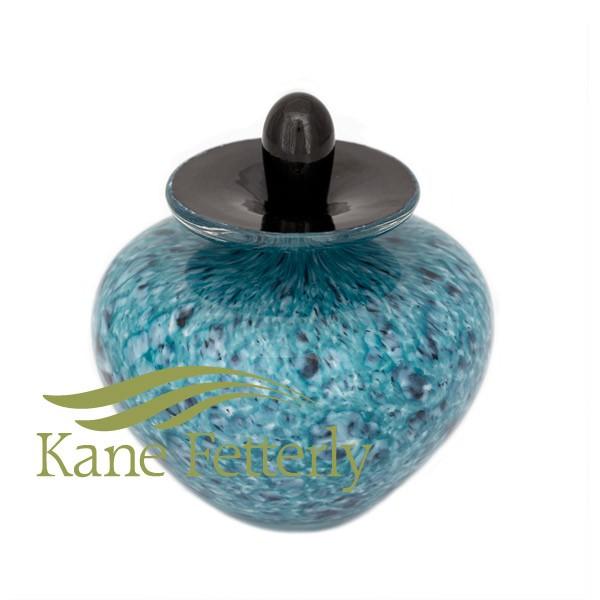 U019EG - Urne miniature en verre soufflé