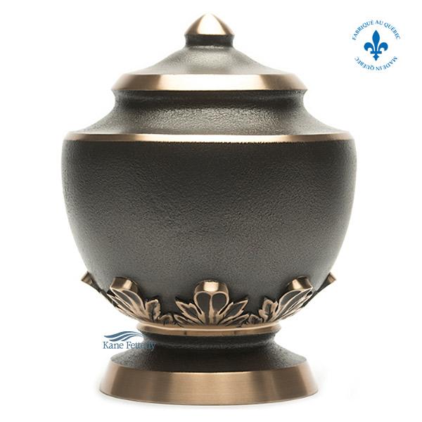 U2055 Solid bronze urn