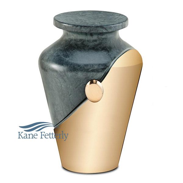 U2063 Solid bronze urn