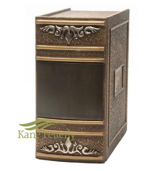 U2615 book zinc double urn