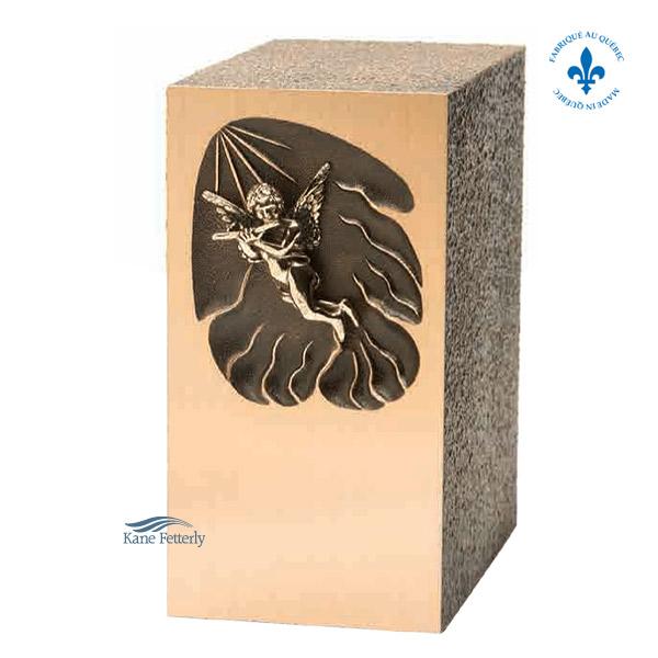 U2636 Bronze and zinc urn