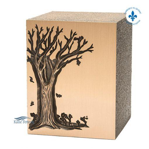 Oak Tree Double Urn