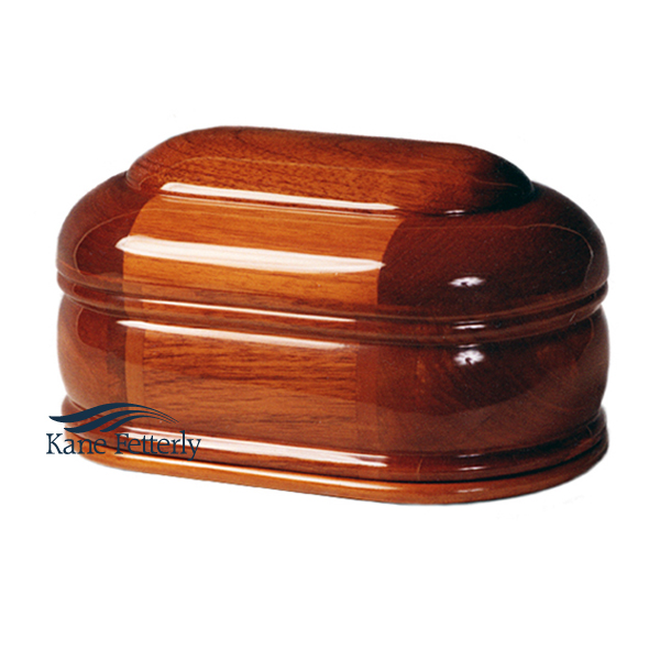 U4004 Solid mahogany urn