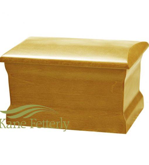 U4011 Solid poplar urn