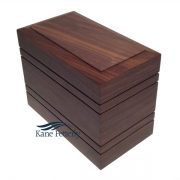 U4054 Solid walnut urn