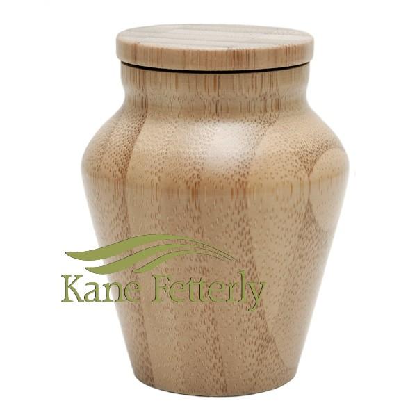 U4220K Bamboo miniature urn