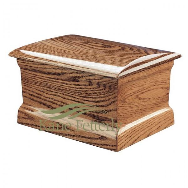U4501 Solid oak urn