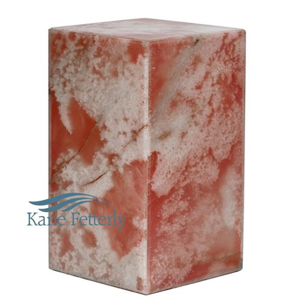 U6006 Onyx marble urn