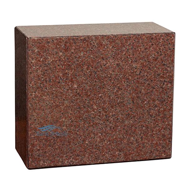 U6015 Urne en granit rouge