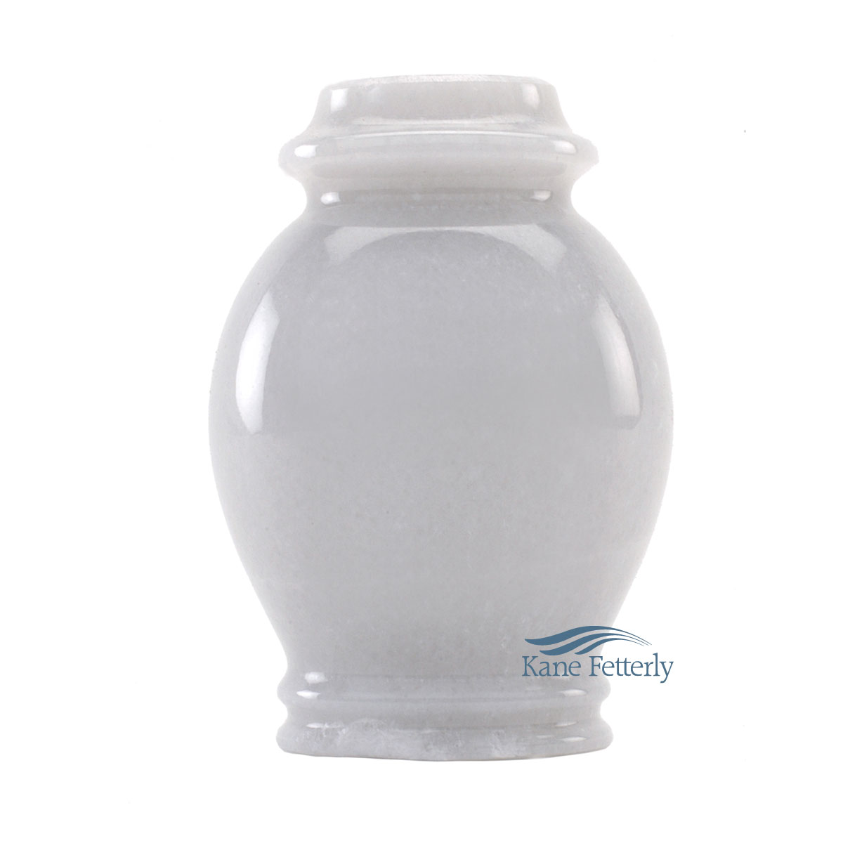 U6024K Natural white marble miniature urn