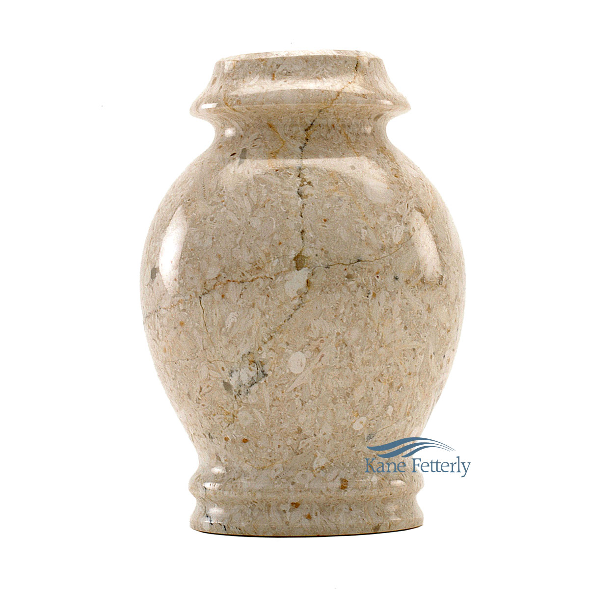 U6028K Natural marble miniature urn
