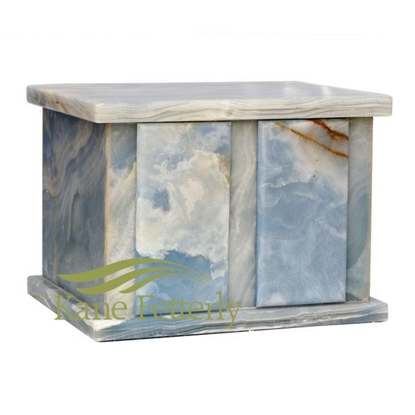 U6040 Onyx marble double urn