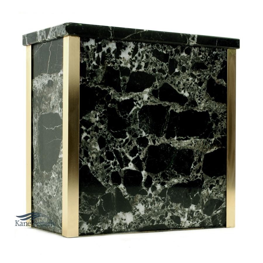 U6050 - Urne en marbre naturel vert fonc�