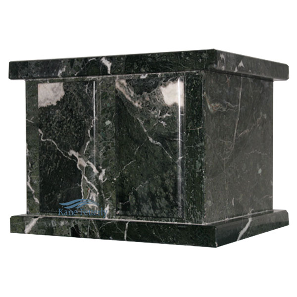 U6461D Natural marble double urn