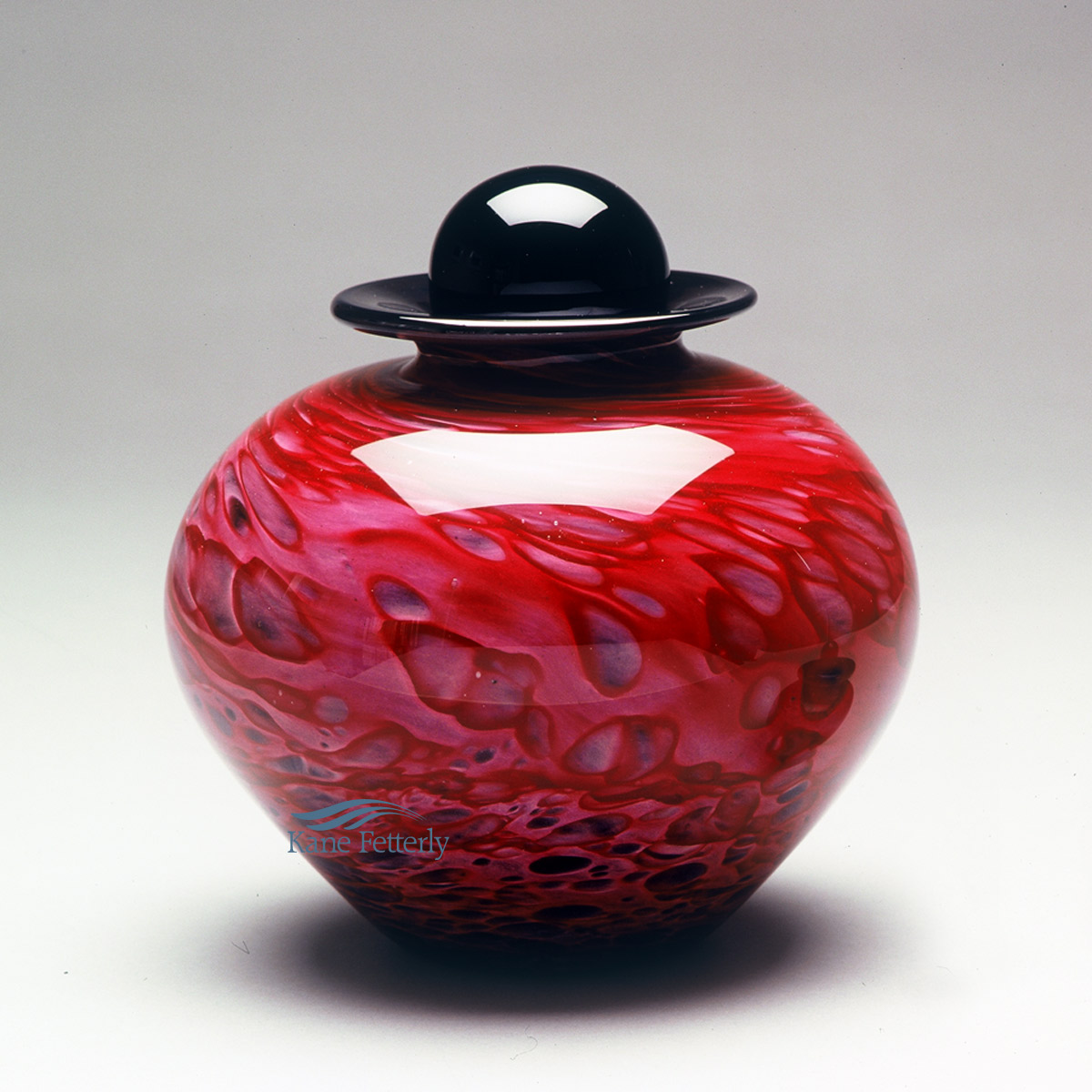 U8210RP Hand-blown glass urn