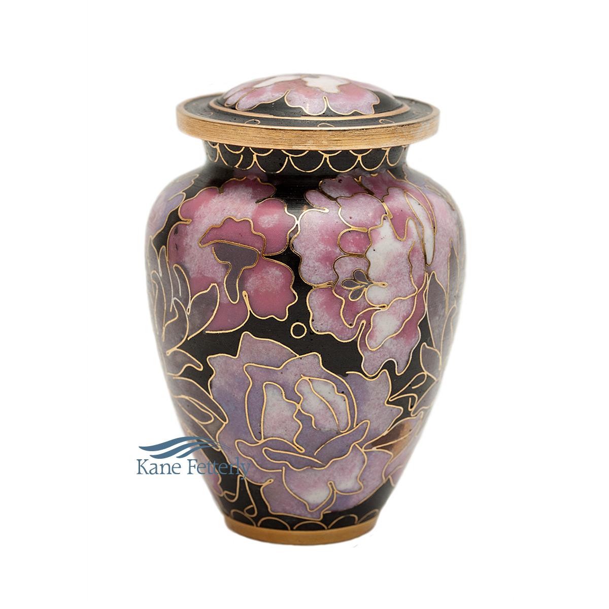 U8599K Cloisonn� miniature urn