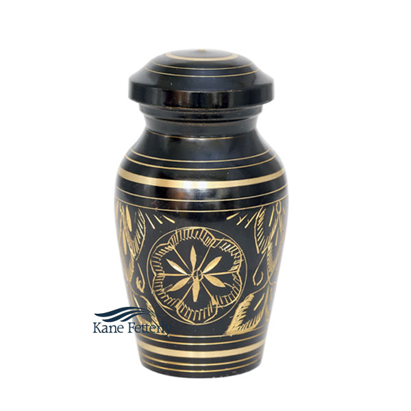 U8626K Brass miniature urn