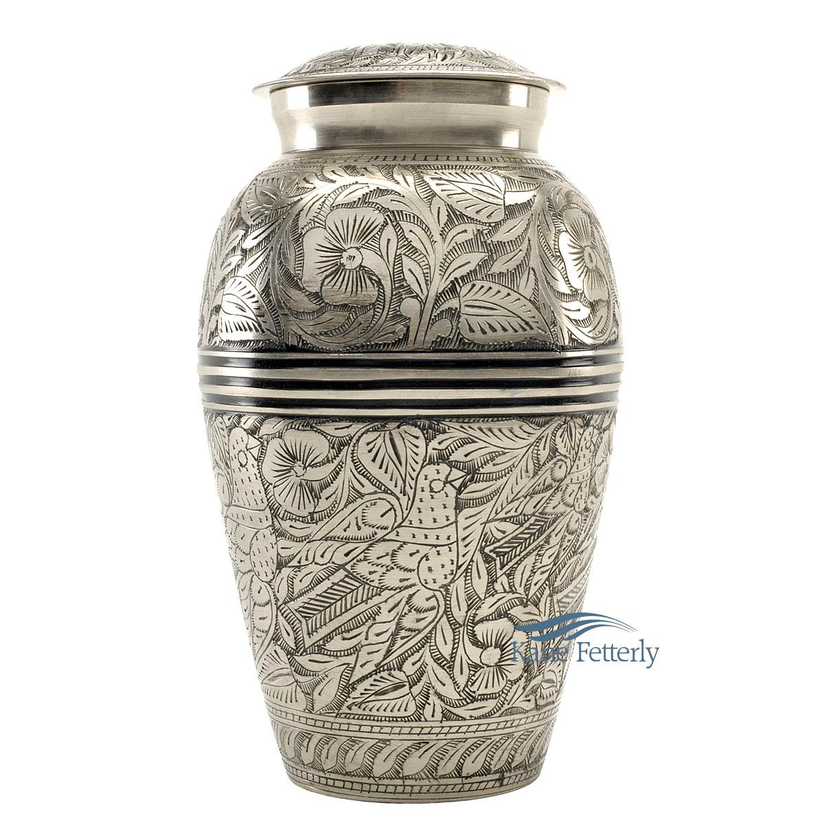 U8630 Brass urn