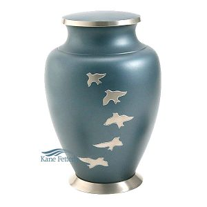 U8635 Brass urn