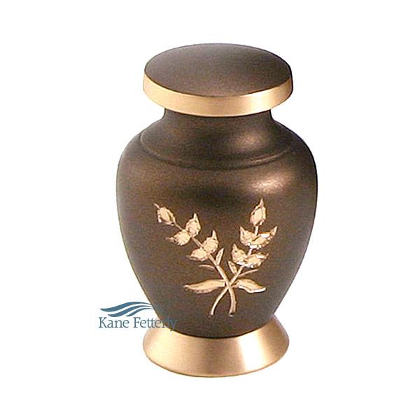 U8643K Brass miniature urn