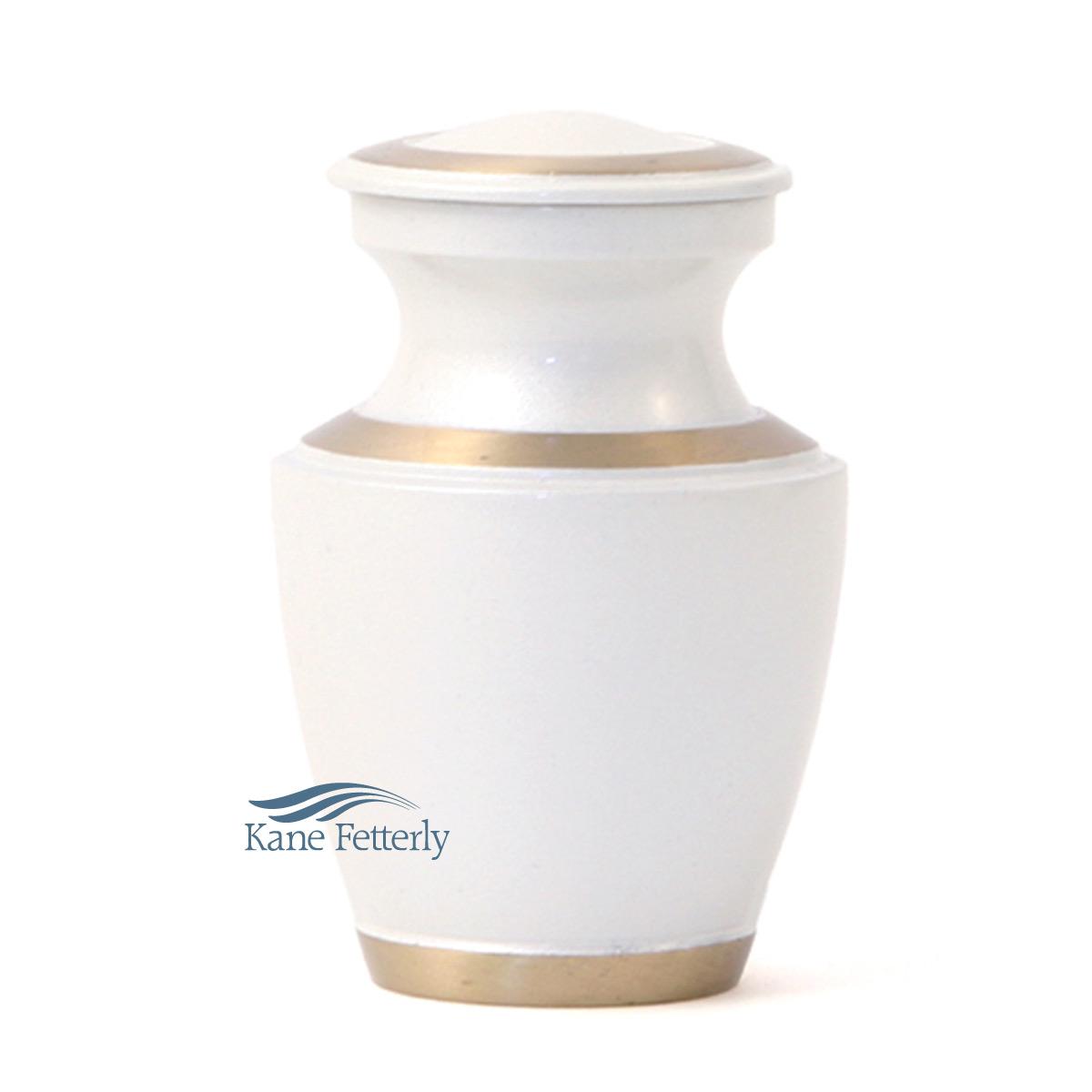 U8651K Brass miniature urn