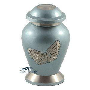 U8652K Urne miniature avec papillons